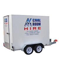 Portable Trailer Coolrooms and Freezers